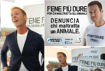 """""""Pene più dure per chi maltratta gli animali"""". E Siffredi si spoglia"""
